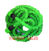 New Arrival  Hot sale! Good quality 25FT Flexible Expandable hose Irrigation Water Hose Green Color