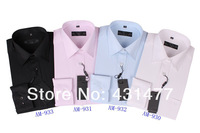 Free shipping!!!Mens long sleeve men dress shirts stripe shirt with high quality  S-4XL