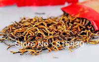 200g Top Quality Organic Dian Hong,JinJunmei,Yunnan Black Tea,Free Shipping