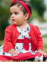 Top-grade the children's dress set knitted sweater + sleeveless flower dress toddler girl summer/autumn dresses princess dress