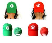 High Quality Super Mario Luigi Hat Baseball Cap