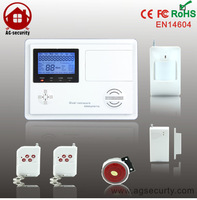 New GSM/PSTN Dual Network Auto Dialing Dialer SMS Call ultra-thin alarm system