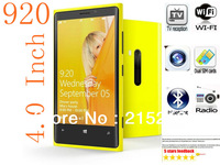 New 920 phone TV WiFi phone 4.0 Inch Touch Screen n920 mobile Phone Dual SIM Card Cell Phone,  (5 color choose)