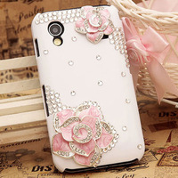 Camellia  for SAMSUNG   gt-s5830 SAMSUNG s5830i phone case mobile phone case rhinestone shell