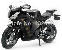 Free shipping! 1:12 Scale Honda CBR 1000RR  Diecast Motorcycle Model Black Motorbike Model Toys
