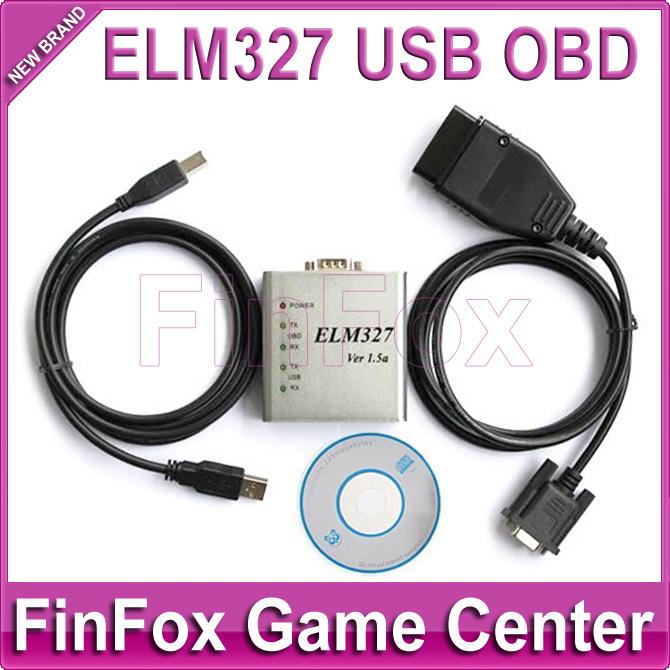 Car Diagnostic Tool Aluminum Case ELM327 USB Interface OBD Scan Tool(China (Mainland))