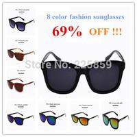Free shipping new 2014 sunglasses coating sunglass women oculos fashion glasses vintage sport  brand glasses
