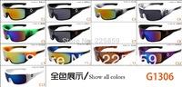 Free shipping new 2014 coating sunglass men brand fashion glasses oculos vintage sport steampunk retro cycling eyewear gafas