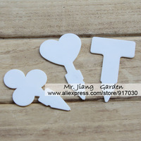 PVC Seedling Plant Labels Markers * Heart Shaped * ( A pack of 10 ) * Especially designed for seedlings