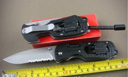 Hot ! 10pcs\lot High Quality OEM KERSHAW 1920 Serrated Multifunction Tools Hunting Knife camping\combat Free Shipping(China (Mainland))