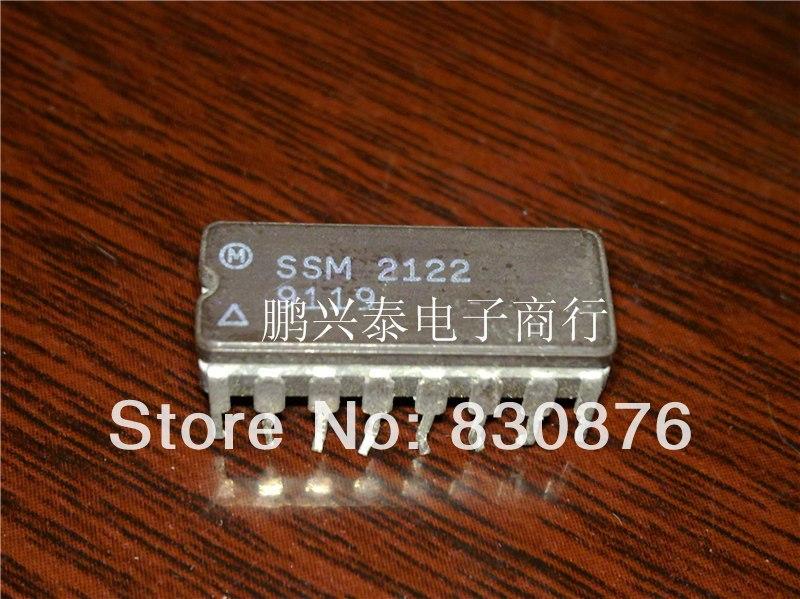 Free shipping / SSM2122 dynamic range processor ic double 16 pin dip ceramic . CDIP16 IC(China (Mainland))