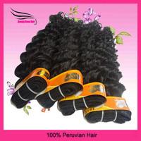 Peruvian VirginHair Deep Curly, 100% HumanHair Products, Grade 5A,4pcs/lot,100gram/bundle,12~28inch, DHL Free shipping!