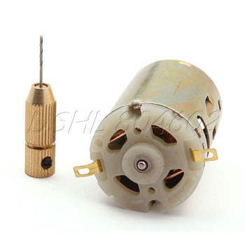 12V Small PCB Drill Press Drilling with 0.8mm drill Diameter 28mm Motor Diameter