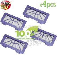 4 Piece 2013 Newest Neato XV-11 XV-12 XV-14 XC-15 XV-21 Cleaner HEPA Filter