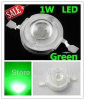 Free shipping+50pcs/lot,1W Green led beads,Taiwan KonWin chip led green high power lamp beads for LED DIY,1W LEDs (No: TK-1W-G )