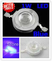 Free shipping+50pcs/lot, 1W Blue led beads, high power led light source, 1W blue LEDs ,blue Ledsfor lamp DIY, (No: TK-1W-B )