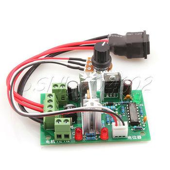 120W DC Motor Speed controller Input 10VDC~30VDC w/ Potentiometer
