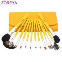Zoreya 12 brush set loose powder brush blush brush professional make-up cosmetic tools cosmetic brush set