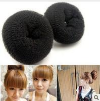 New Arrival Hair Styling Donut Magic Sponge Bun Ring Maker Former Twist Tool Hair Disk 10pcs/lot