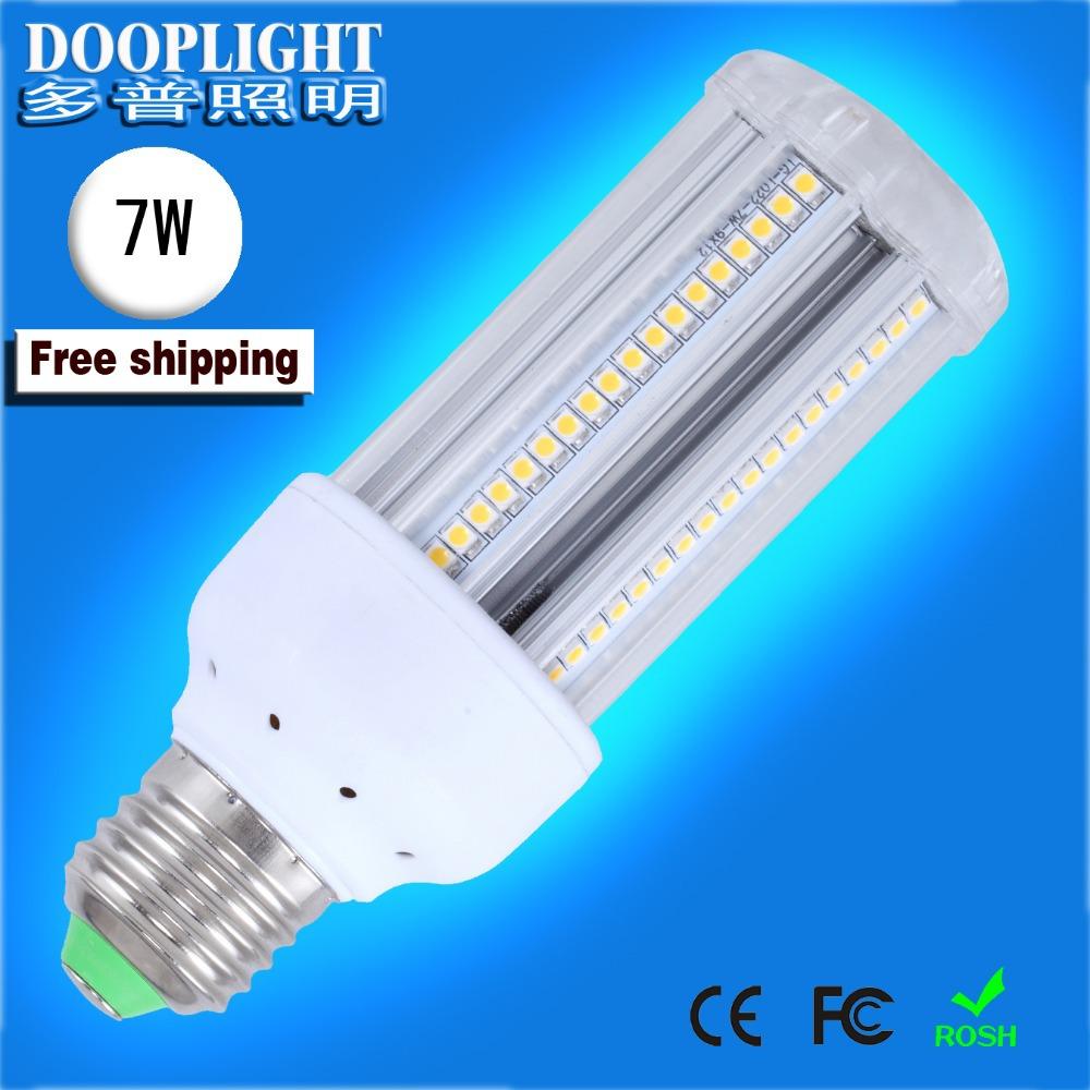 E27 7W LED Corn light,IP54,Shopping, Factory,LED lighting,Warm white,Nature white,Daylight white,Cool white,No UV and IR.(China (Mainland))