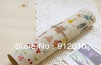 10PC 20*30cm  The girl elements  Hand Painting Dyeing Natural Cotton Linen Canvas Handmade DIY Patchwork Fabric Mix Order