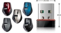 10 / lot.USB wireless mouse. 2.4 G wireless mouse, fashion and convenient. Free shipping.