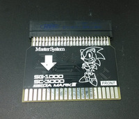 SMS2SG1000 Sega Master System (U.S. Version) to Sega MARK II (Japanese Version) Adapter SMS Adapter