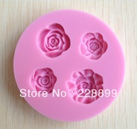Free Shipping 1Pcs baby animal Chocolate Candy Jello 3D silicone Mold Mould cake tools Bakeware Pastry Soap Mold  CC080