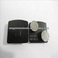 Metal diamond toolings
