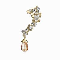 Rhinestone Earrings Flower Butterfly Ear Cuff Earring Crystal Drop Fashion Jewelry Gift For Women