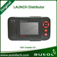 2013 New Released Original Auto Code Reader Launch X431 Creader VII+ Equal CRP123 Creader VII Plus Update Via Offical Website