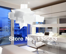 Christmas promotion 65CM Modern Big Bang Ceiling Light Fixtures Chandelier Pendant Lamp Lighting+free shipping White-LP057(China (Mainland))