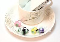 Free shipping Set of 10 Pieces Fashion STB Coffee Mug design Earphone Jack Plug anti dust ear cap for Mobile Phones