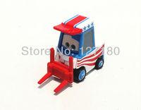 Free Shipping&100% Original Pixar cars Mater USA Forklift Diecast Loose Toy