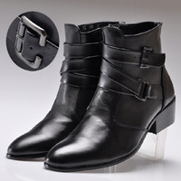 Summer boots men's high-top shoes male boots male shoes martin boots fashion male boots