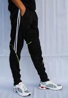 2014 New Real Madrid/AC Milan Skinny Soccer Sweatpants Men Football Training Pants Male Sport Tights Summer Trousers 4XL