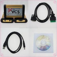 2014 free shipping V1.45 VCS Vehicle Communication Scanner VCS Scanner Interface  VCS scanner Multi-Languages