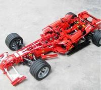 Decool Formula Racing Car 1:8 Model 3335 Building Blocks Sets 1242pcs Legoland Educational DIY Bricks Toys Children Christmas !!