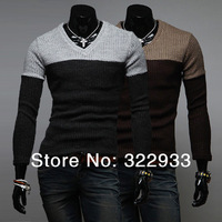 Free gift, 2013 New han edition cultivate one's morality long-sleeved v-neck sweater man joker render unlined upper garment