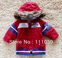 High quality baby down&parkas,down mixed cotton worsted coat baby clothing winter