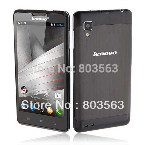 hot sale Lenovo P780 Smartphone MTK6589 Quad core Android 4.4 5.0 Inch Gorilla Glass Screen 3G GPS OTG original(China (Mainland))