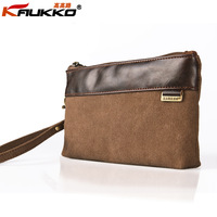 casual  horizontal men women's canvas wallet day clutch key wallet cosmetic bag high quality Designer brand