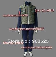 Free Shipping  Apparel Naruto Hatake Kakashi Cosplay Costume, any measurements
