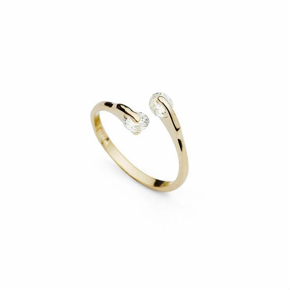 Кольцо Hanfunt R007 CZ 18K кольцо myth mode r 2013122402 cz r 2013122402