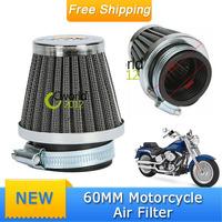 Universal ATV Air Filter New Clamp-on 60mm Motorcycle Air Filter Cleaner For Yamaha Kawasaki Suzuki