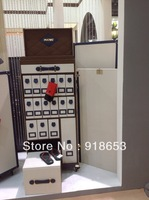 High end quality leather furniture queen's  shoe cabinet