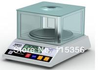 free shipping APTP457B 600g x 0.01g Precision Laboratory analytical balance Jewelry diamond gold weighing bench kitchen scale