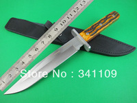 BEST FOX Knives BIG-GAME 601CE Tactical Straight Knife Survival Hunting Outdoor Camping Outdoor Knife HK Free Shipping