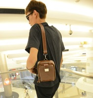 Fashionable casual man bag vintage the trend of the boy chest pack messenger bag small bags