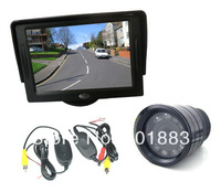 "9 IR LED night vision Wireless Reversing backup Camera + 4.3"" TFT LCD Monitor Car Rear View parking Kit"